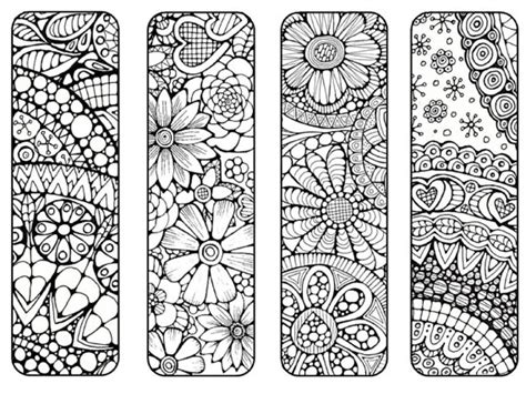 free printable nature bookmarks bookmarks to print and color bookmark by