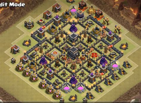 layout coc base war th9 top 20 best th9 war base layouts 2018 new anti 2 stars