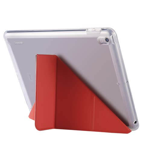 Apple Pro 10 5 Protective Shell Smart Cover Pu Leather Back 2 for apple pro 10 5 2017 slim tri fold leather clear back smart cover ebay