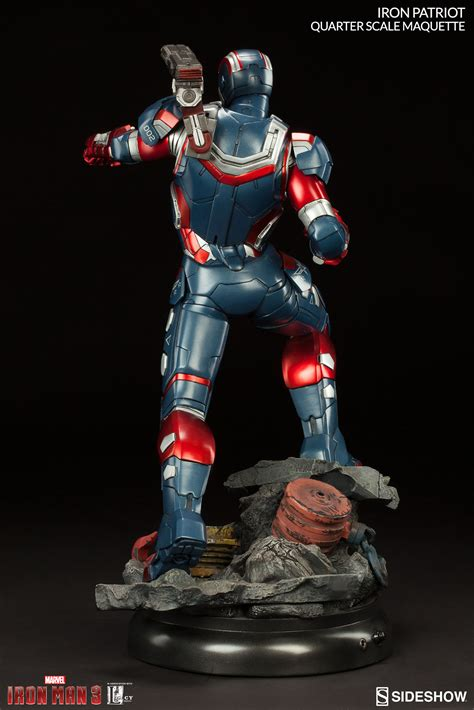 Ironman Patriot Marvel iron patriot maquette sideshow collectibles