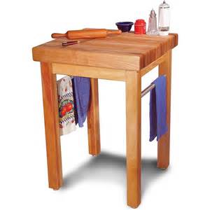 small butcher block kitchen table country 24 quot catskill craftsmen butcher block table