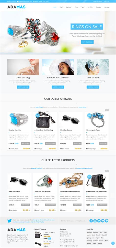 28 premium ecommerce templates download template