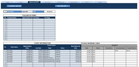 Sales Task List And Pipeline Manager Sales Pipeline Template