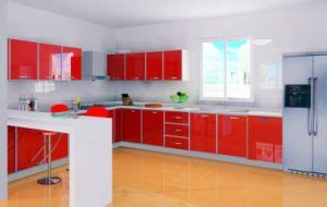 New Model Kitchen Cupboards China New Model Kitchen Cabinet With High Glossy Doors