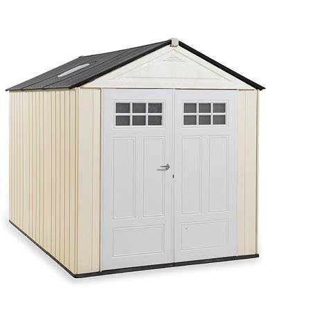 rubbermaid  outdoor resin storage shed