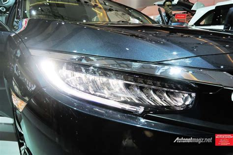 led headl all new honda civic turbo indonesia