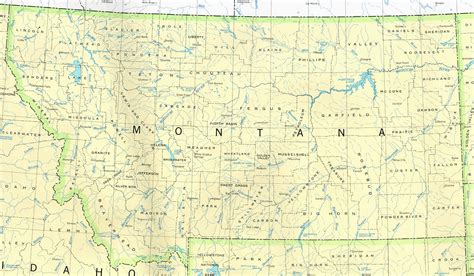 map of montana state montana maps perry casta 241 eda map collection ut library
