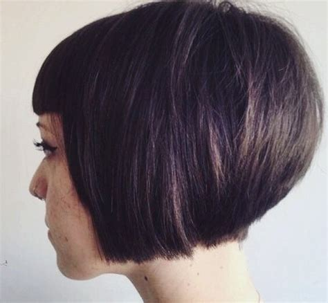 20 short stacked bob hairstyles that look great on