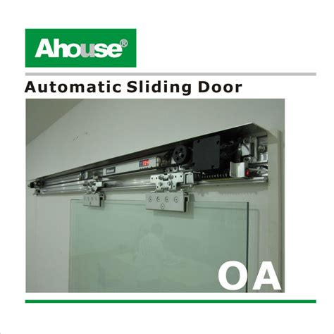 automatic barn door opener ahouse automatic glass door opener automatic sliding door