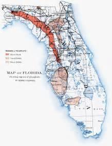 map of florida regions map of florida showing regions of phosphate 1892