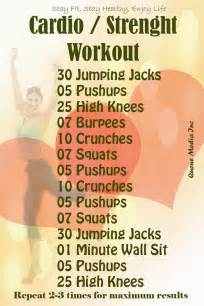 the wealth of health cardio strenght workout