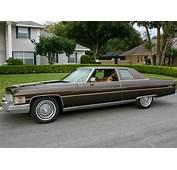 All American Classic Cars 1974 Cadillac Coupe De Ville 2