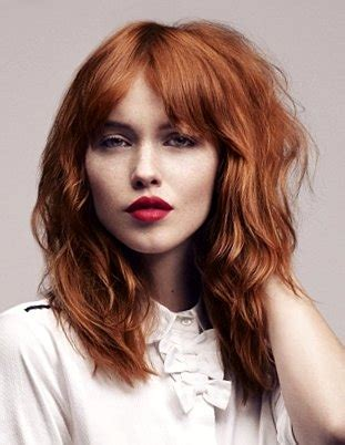 gypsy style hairstyles gypsy shag haircut the perfect layered haircut for thick