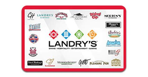 Landry S Gift Card - landry s egift cards food restaurants