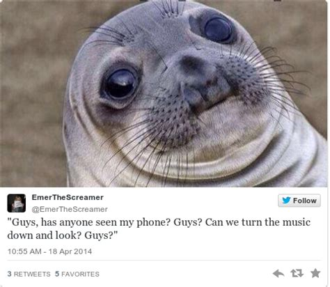 For Seal Meme - worried seal is the new meme that perfectly sums up your life