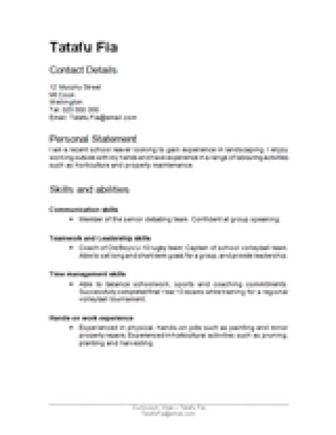 Resume Template Nz by The 25 Best Cv Template Nz Ideas On Easy