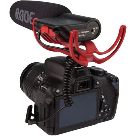 Murah Rode Videomic Pro With Rycote Lyre Suspension Mount rode microphones vm r videomic with rycote lyre suspension