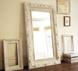 jocelyn hand carved floral mirror traditional floor mirrors by pottery barn