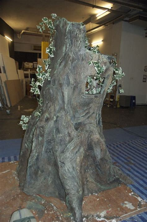How To Make A Paper Mache Tree - 1000 images about jungle book set design on