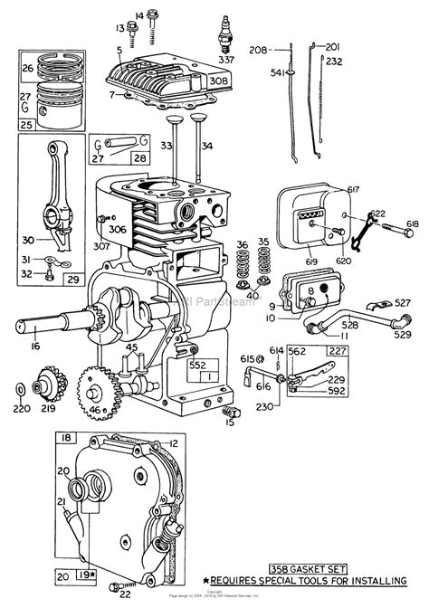 5hp briggs and stratton carburetor diagram toro 62912 5 hp lawn vacuum 1978 sn 8000001 8999999