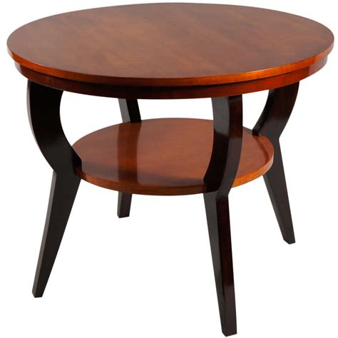 maple table legs deco tiger maple side table with ebonized legs for sale at 1stdibs