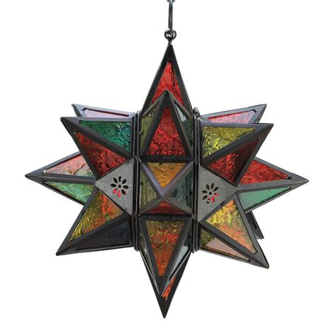 Stained Glass Ls Wholesale by Wholesale Stained Glass 3d Sculpture Shape Hanging Candle Lantern
