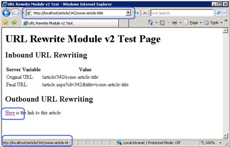 static pattern rule make creating outbound rules for url rewrite module microsoft