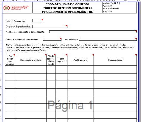 planilla de funcionarios abril 2016 caja de seguro social formato hoja de control v1 unidad para las v 237 ctimas