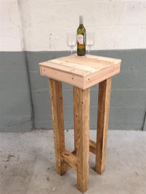 Bar Stools Made Out Of Pallets by Wooden Pallet Stool Plans Pallet Wood Projects