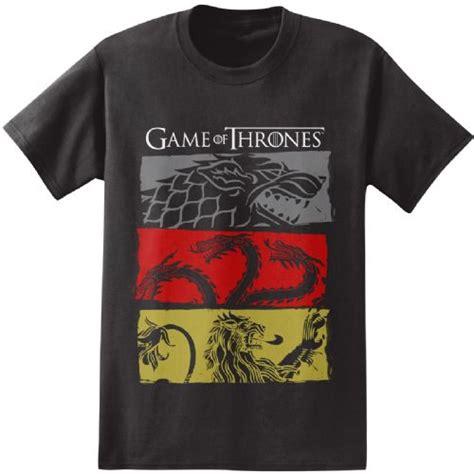 T Shirt Got The On got of thrones stark targaren lannister houses black