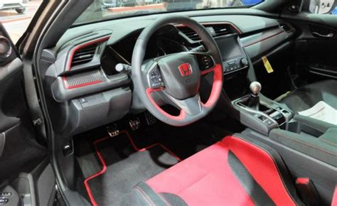 Type R Interior by Look At The 2017 Honda Civic Type R Prototype Interior