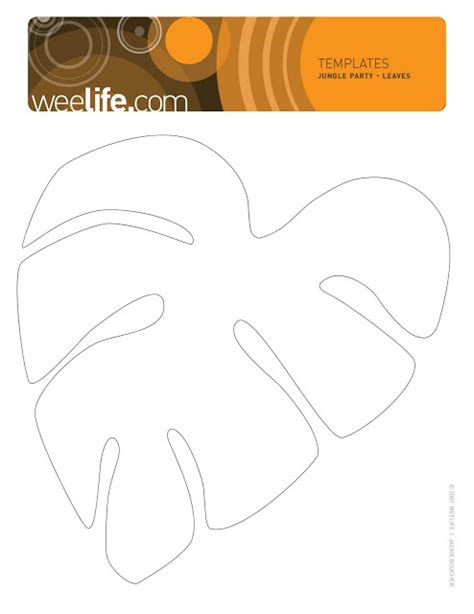 template pattern là gì templates for jungle leaves weelife leafy templates