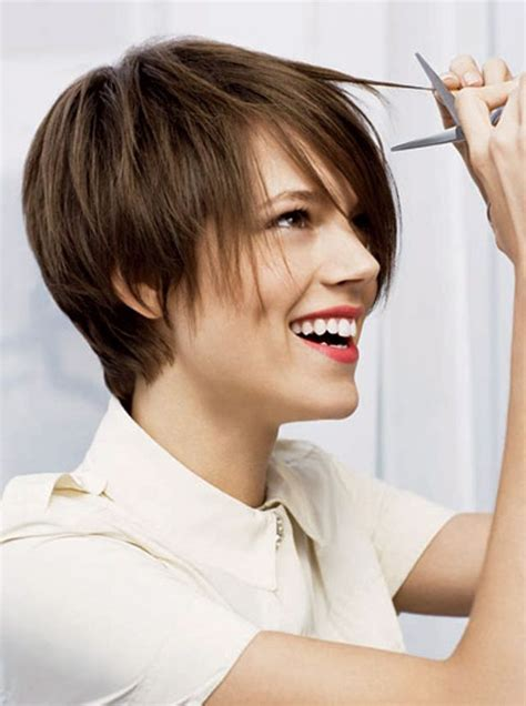 is a pixie haircut cut on the diagonal 25 trending short hair model ideas on pinterest long