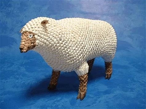 3d Origami Sheep - 352 best 3d origami images on origami