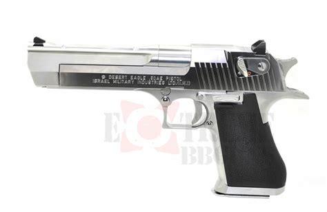 Airsoft Gun Tokyo Marui tokyo marui desert eagle gas blowback airsoft pistol silver bb guns