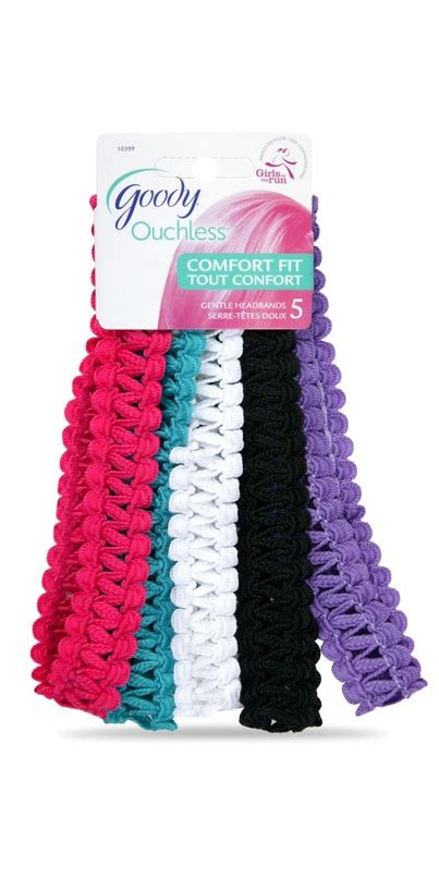 goody ouchless comfort fit headbands buy goody ouchless comfort fit gentle headbands at well ca