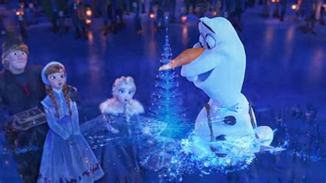 olafs frozen adventure the trailer for olaf s adventure leaves us wanting
