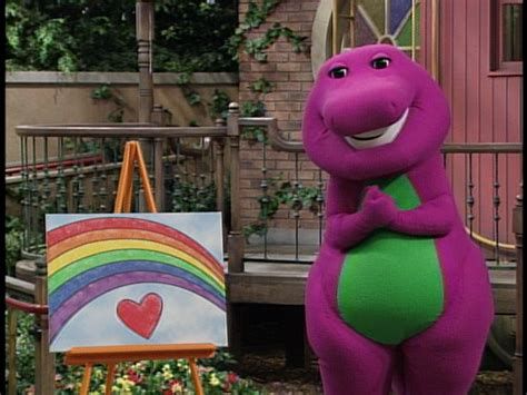 barney colors all around barney shapes colors all around 2011 dvdr ntsc el