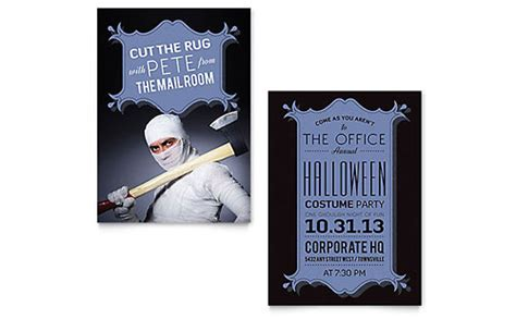 Phlet Note Card Design Templates by Costume Note Card Template Design