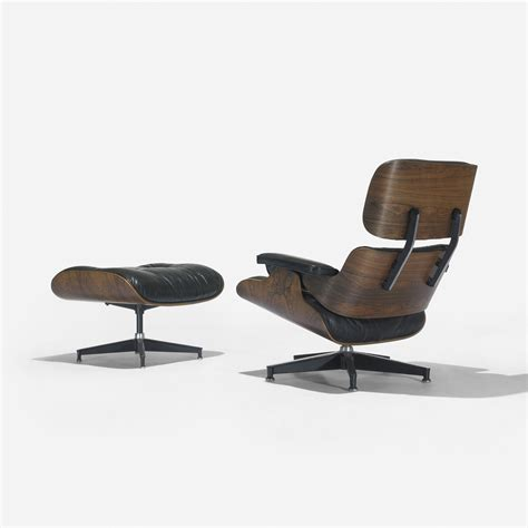 Eames 670 Lounge Chair by 113 Charles And Eames 670 Lounge Chairs And 671 Ottoman