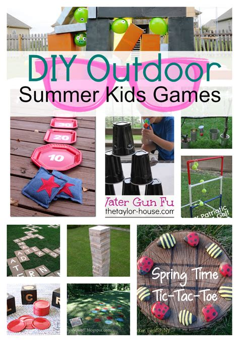 diy game 30 summer fun ideas the crafting chicks