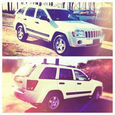 Jeep 4096 White Black 2005 jeep grand i really like car