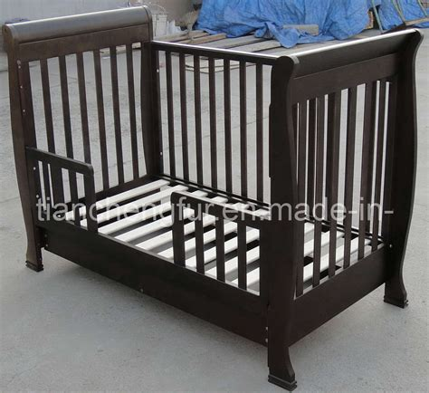 Sleigh Cot Bed China Sleigh Cot Bed Tc8033 China Cot Baby Furniture