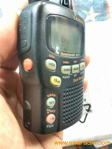 Baterai Yaesu Vx 1 dijual yaesu vx 1r rx tx ok baterai ok swaradio