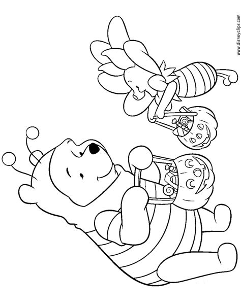 winnie the pooh halloween coloring pages printable disney halloween coloring pages 3 disney s world of wonders