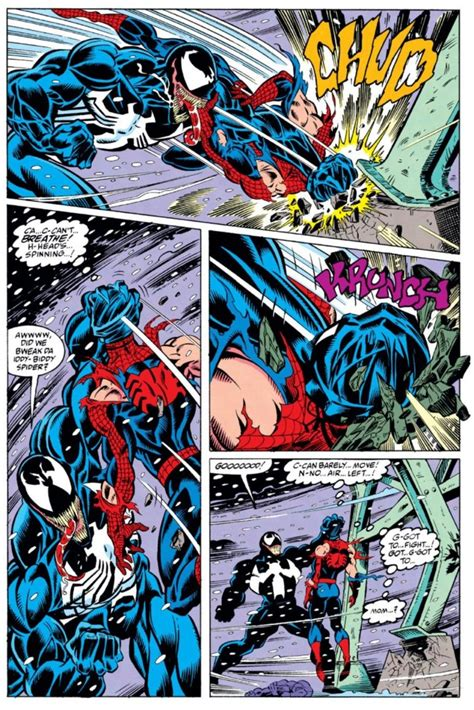 libro spider man by david michelinie amazing spider man 375 and how do you solve a problem like venom