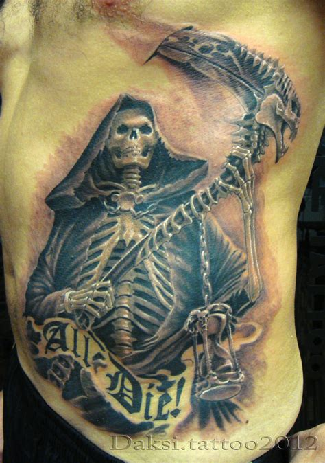tattoo ideas death tattoos and designs page 55