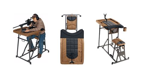 the shooters bench herter s deluxe shooting bench outdoorhub