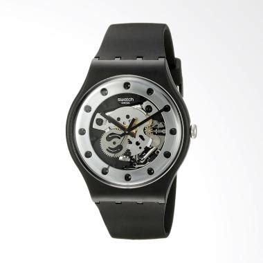 blibli glalm jual swatch suoz147 silver glam jam tangan pria hitam