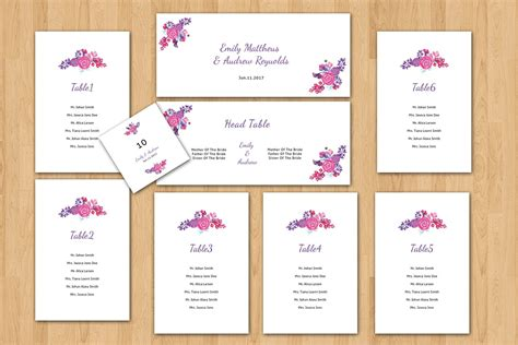 Wedding Seating Chart by Wedding Seating Chart Template Stationery Templates